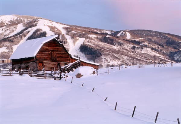 Steamboat Barn, Winter Art | photographicsart