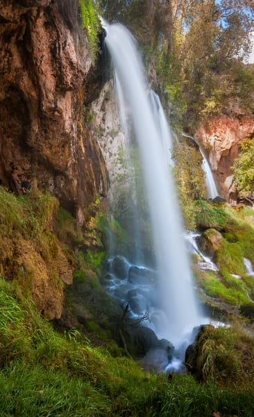 Colorado's Rifle Falls Cascade | Beautiful waterfalls prints by nature photographer thomas schoeller