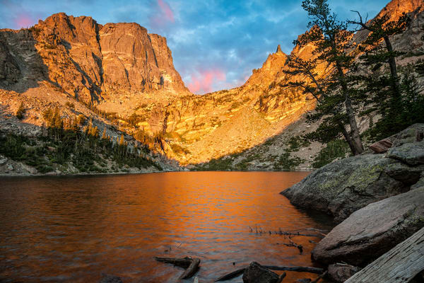 Emerald Lake scenic landscape photography/ jewell of the Rocky Mountains. Fine art prints by Thomas Schoeller