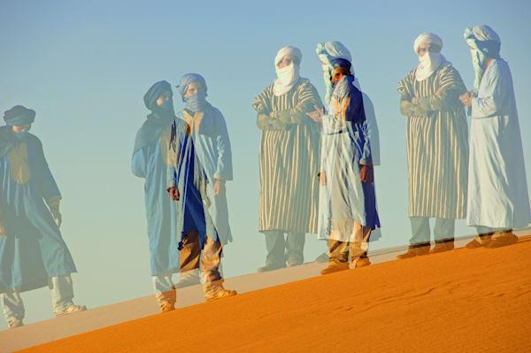Berber Men in the Sahara