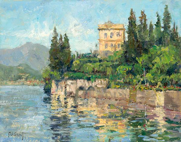 Villa Monasterio On Como, Joe Anna Arnett
