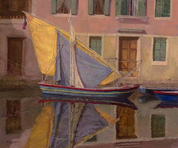Chioggia Sail Drying, Joe Anna Arnett