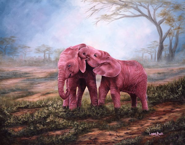Pink Elephants Art | Fine Art New Mexico