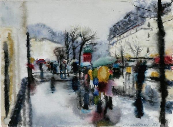 Rainy Day Paris