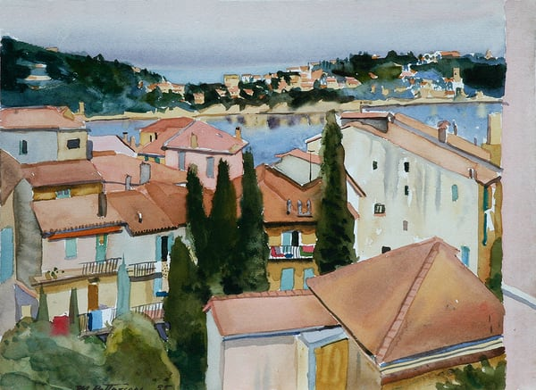 Southern France Rooftops