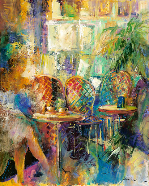 In a Quiet Cafe
