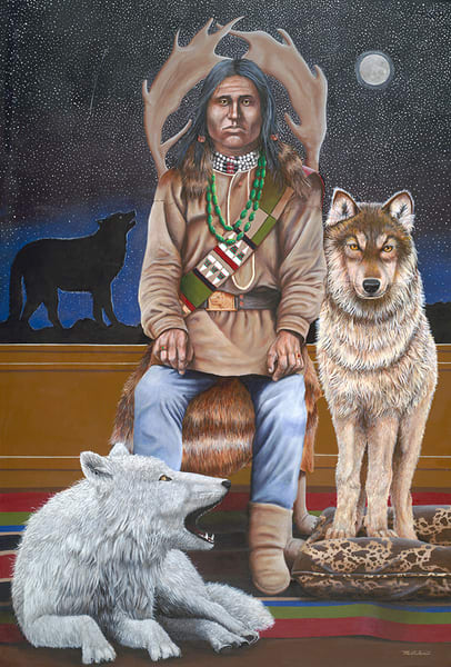 Sitting with Wolves