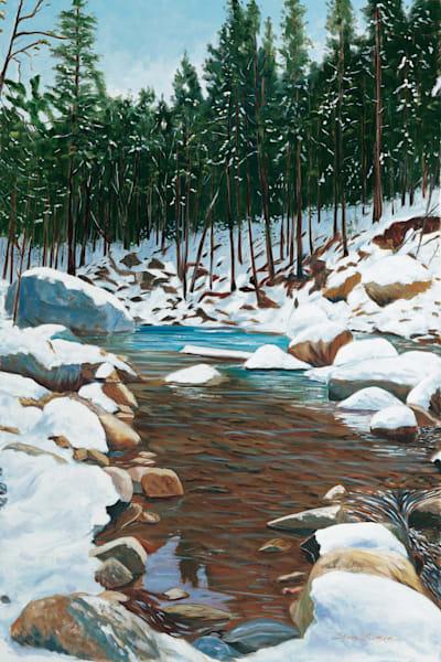 American River in Winter