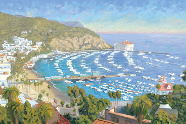 Avalon Bay on Santa Catalina Island