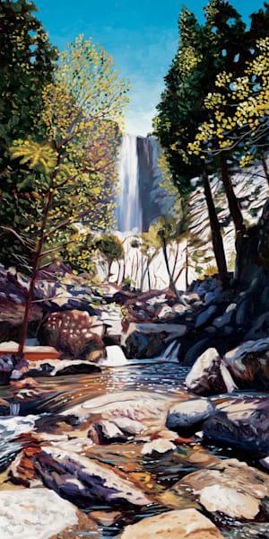 Bridalveil Fall in Yosemite Valley