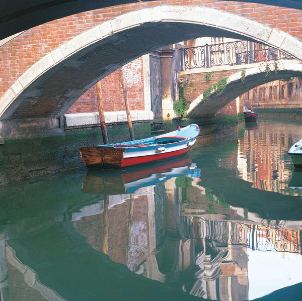 An American Boat In Venice