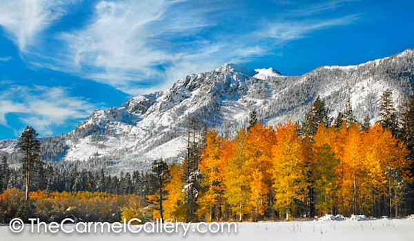 Autumn Snow, Mt. Tallac