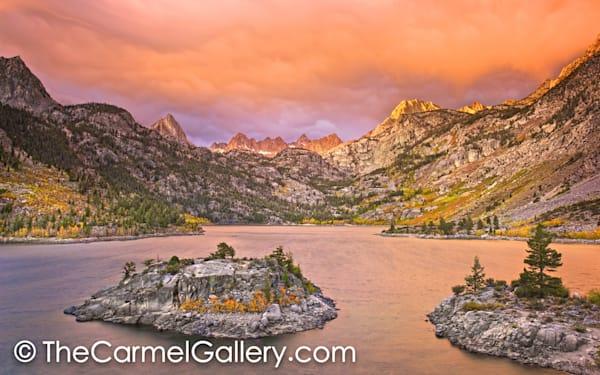 Stormy Sunrise, Lake Sabrina