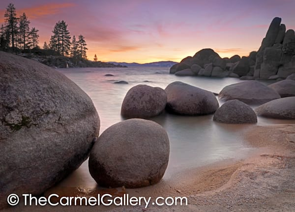 Winter Sunset, Sand Harbor