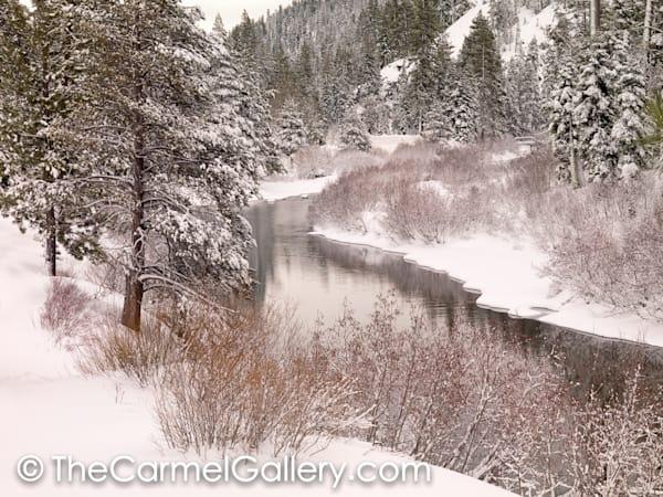 Winter Palette, Truckee River