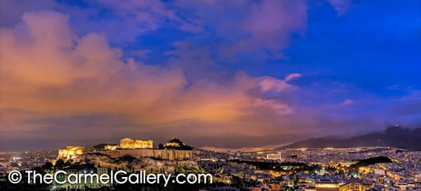 Twillight over the Acropolis