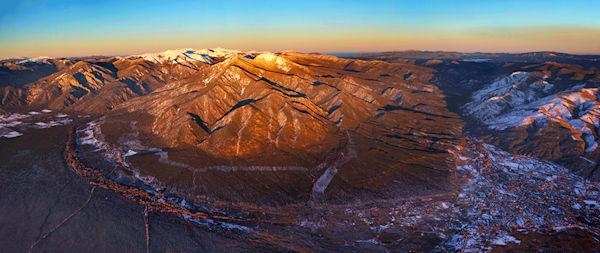 Pueblo Panorama
