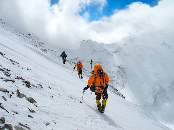 Mt Everest, October 2006