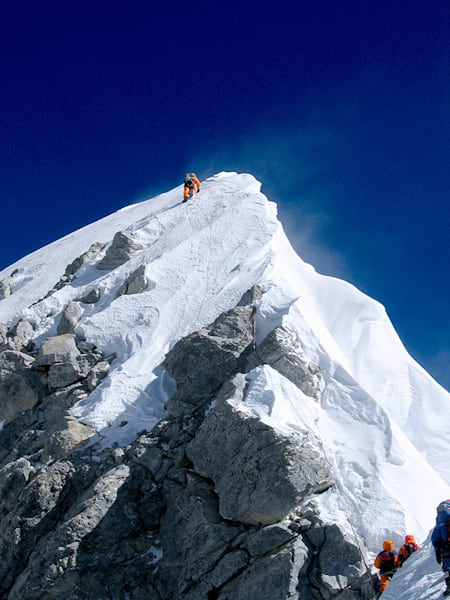 Mt Everest Hillary Step, May 2005