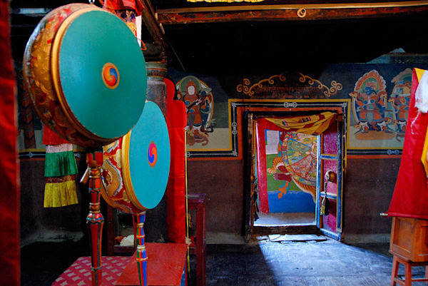 Tibetan Monastery Room