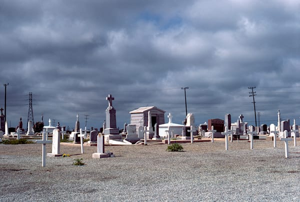 Central California Graveyard Art by fineart-new mexico