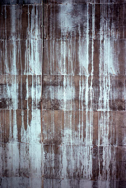 Abstract Cement Wall With Nails