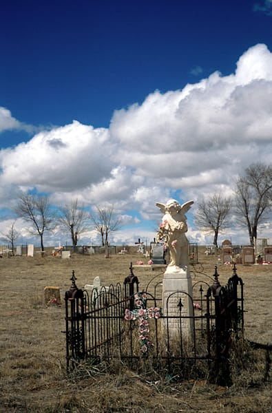 Eastern New Mexico Graveyard