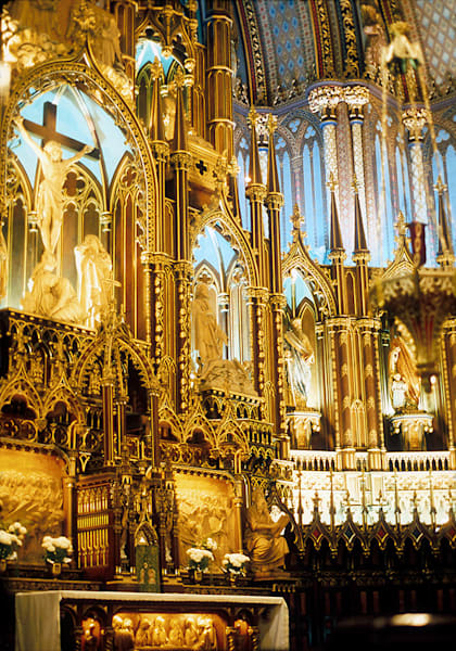 Nortre Dame Cathedral, Montreal Canada Art | Fine Art New Mexico