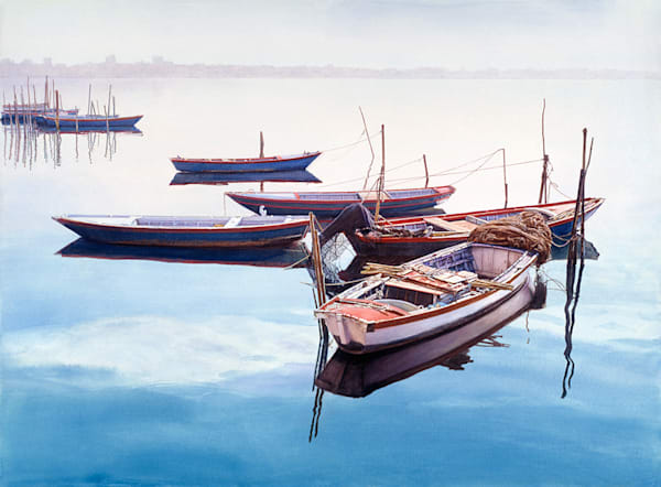 Boats At Rest, James Asher