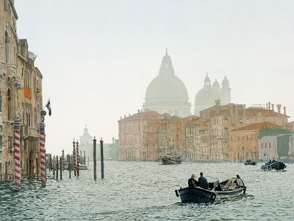 Silver Day Grand Canal, James Asher
