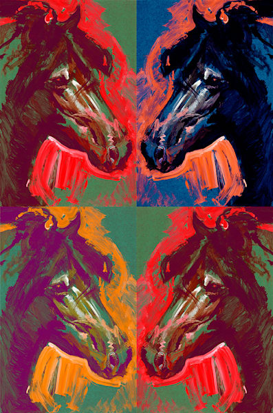 Pony X 4 Art | Fine Art New Mexico