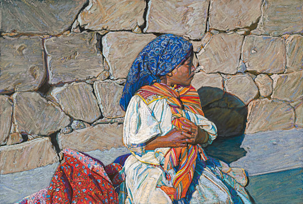 Tarahumara Girl No. 2, Bill Baker