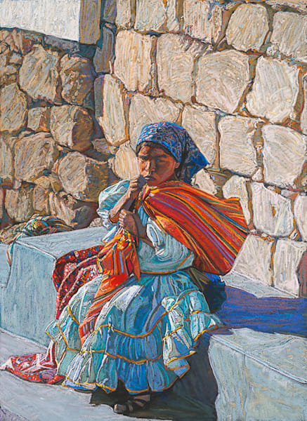 Tarahumara Girl No. 1, Bill Baker