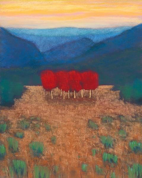 Red Tree Magic Art | Fine Art New Mexico