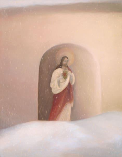 Heart Of Winter Art   Fine Art New Mexico