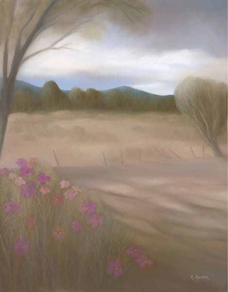 Couse Field And Cosmos Art | Fine Art New Mexico