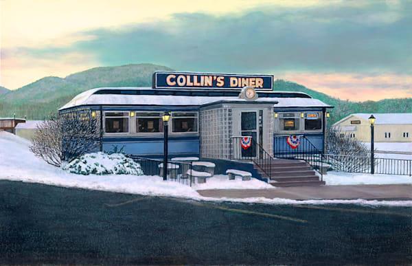Collins Diner Art   Fine Art New Mexico