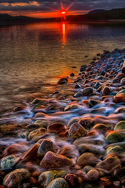 Colorful Rocks, Lake Superior