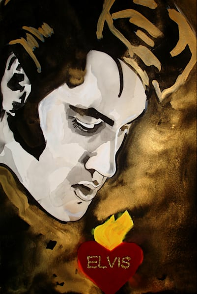 Elvis Art | William K. Stidham - heART Art