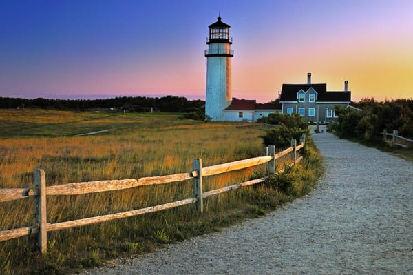 Cape Cod Lighthouse Fine Art Prints | Nautical decor by Thomas Schoeller