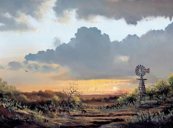 Texas Twilight-Wade Butler Studios/Wade Butler Art