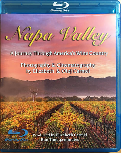Napa Valley Blu Ray DVD