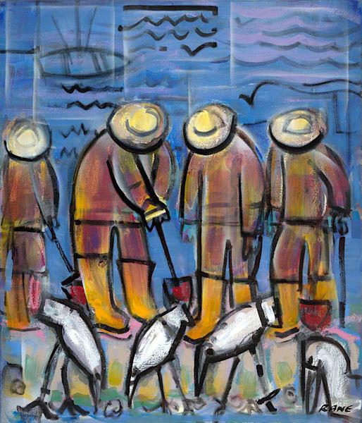 Clam Diggers Art | Fine Art New Mexico