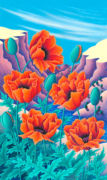 Canyon Poppies