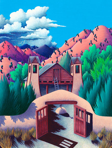 Chimayo Art by fineart-new mexico