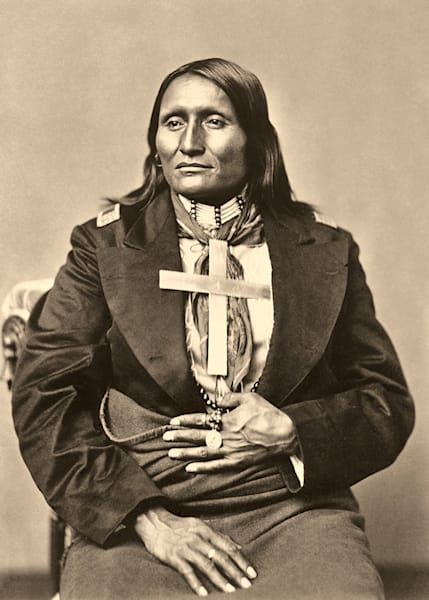 White Shield, Cheyenne Warrior Art | Fine Art New Mexico