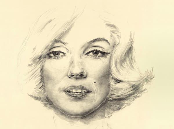 """Marilyn Portrait"" Horizontal"