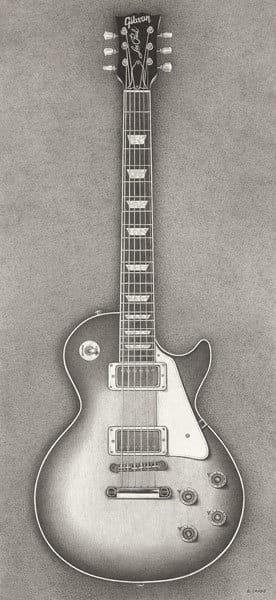 """Gibson Les Paul Guitar"""