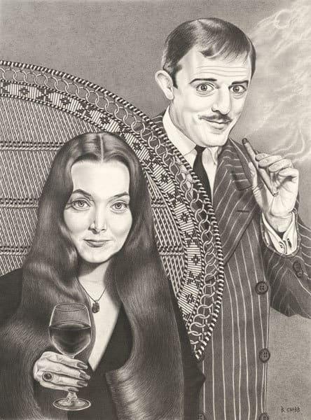 """""""Morticia and Gomez"""""""
