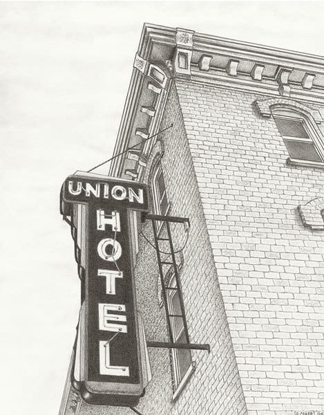 """Union Hotel, Sign"""